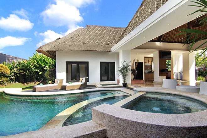 presidential suite, 3 bedroom villa in seminyak - villa seminyak