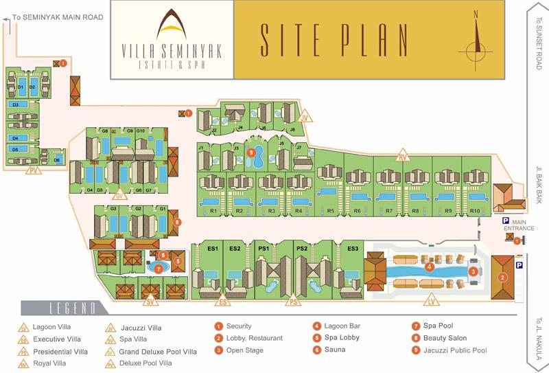 Villa Categories - Villa Seminyak Estate & Spa